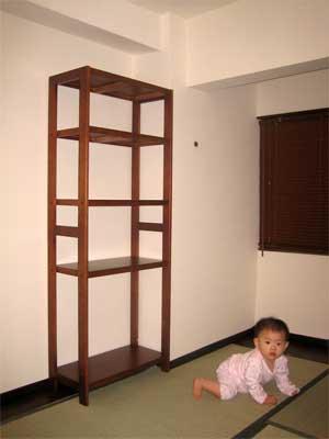 奈良工房の棚