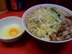 ラーメン二郎上野毛店081226