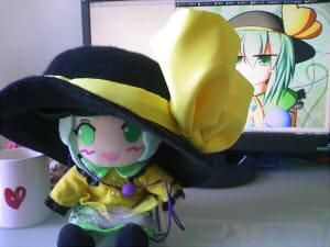 こいしちゃん帽子2