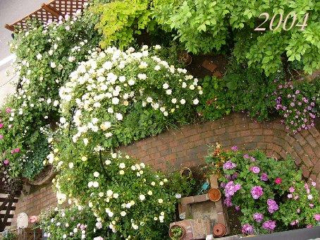2004年の庭