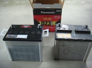 55D23Lバッテリー