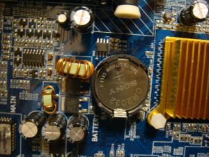 BIOSバックアップ電池