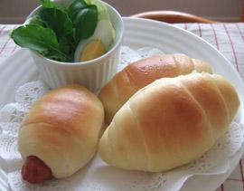 バターロール&ウィンナーパン