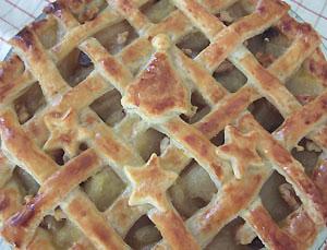2回目アップルパイ焼きあがり