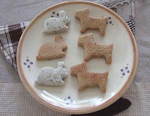 米粉入りクッキー
