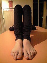 膝の高さ操体後