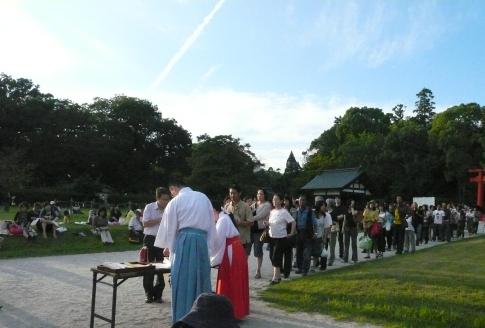 上賀茂神社・観月祭B2