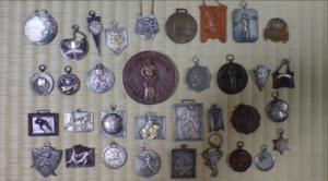 おじいちゃんのメダル