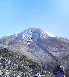 丸沼高原スキー場頂上より