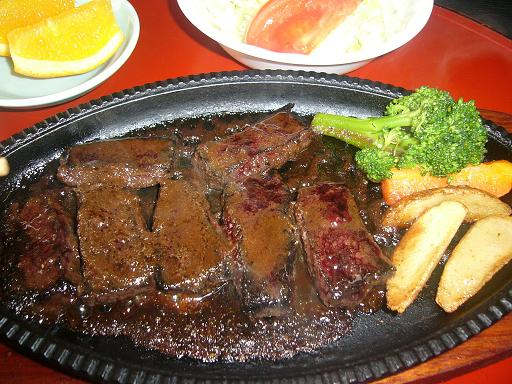 鯨のステーキ