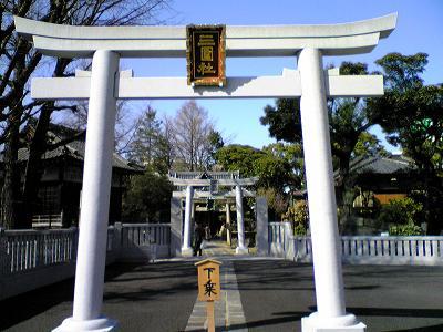 三囲神社 鳥居