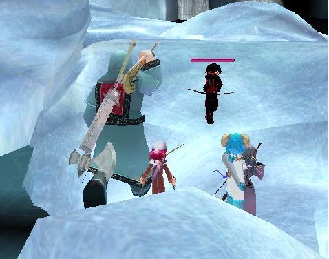 ネオで雪花結晶D
