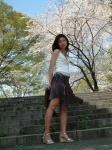去年4/10プレミア撮影会1部の和泉真葵さん@新宿中央公園の写真