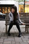 5/6 フィットワン撮影会1部の田井中茉莉亜ちゃん@丸の内周辺の写真(α700&AF35mm:F2.8X1/60s@ISO400)