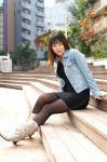 11/17ザ・ワン(The One)撮影会2部の森崎愛さんの写真@東京・田町周辺の運河の写真(α-7D&AF35mm:F2.8X1/250s@ISO100)