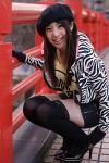 3/28 ZERO-POINT撮影会3部の田井中茉莉亜ちゃん@佃島周辺の写真(α700&AF50mm:F2.8X1/320s@ISO200)
