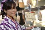 2/3ぷりずむ撮影会前半の黒沢まいさん@鎌倉御霊神社の写真(α-7D&AF50mmマクロ:F2.8X1/160s@ISO200)
