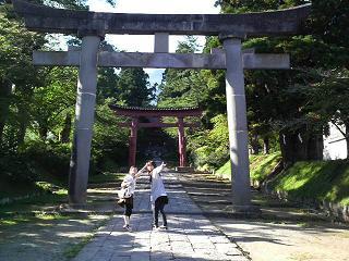 岩木神社.