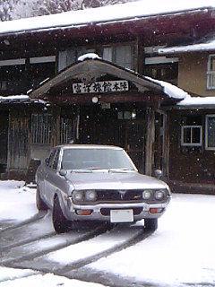 マツダルーチェと雪