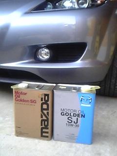RX-8とマツダ純正オイル缶
