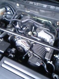 RX-8のエンジンルーム