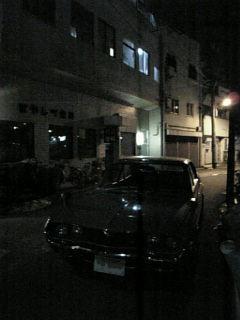 夜の路地裏とルーチェ