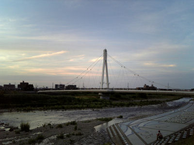 912SHでとったふれあい橋