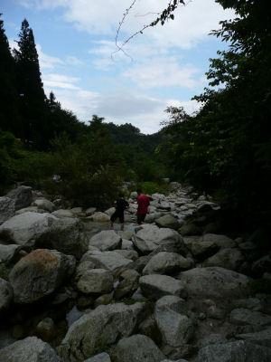 川を歩く~