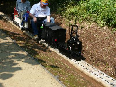 草軽の機関車