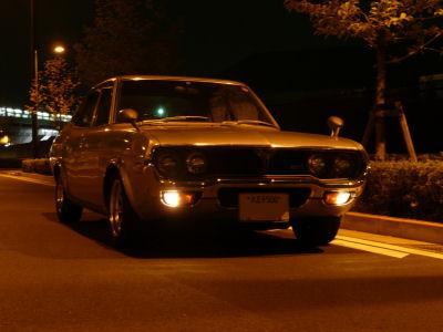 ルーチェと深夜の路上