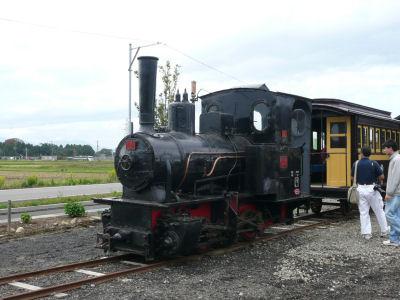 頸城鉄道のコッペル2号機