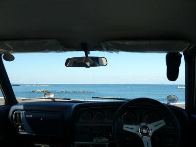 日本海ってきれいだなぁ