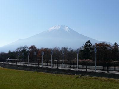 山梨側の富士山