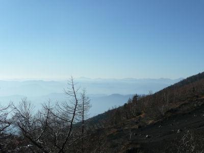 富士山からの眺め