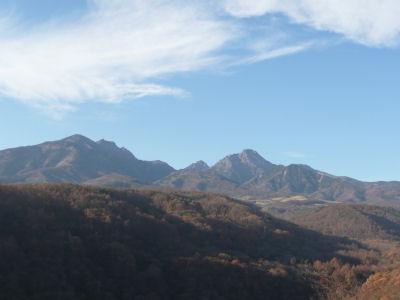 八ヶ岳大橋から見る八ヶ岳