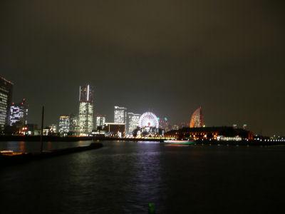 横浜大桟橋から