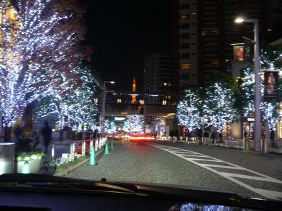 六本木から見る東京タワー