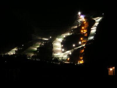 綺麗に光るシャトレーゼスキーリゾート八ヶ岳