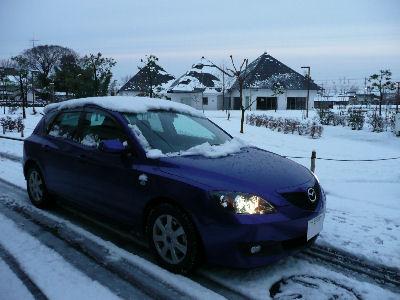 雪上のアクセラ