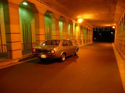 ルーチェ、トンネルの中