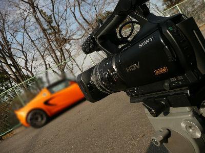 V1Jでとあるスポーツカーを撮る