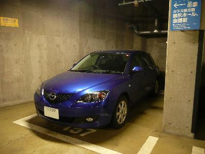 東京国際フォーラム地下駐車場とアクセラ