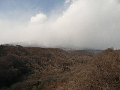 雪舞う八ケ岳