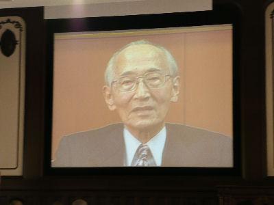 山本健一さんからのビデオレター