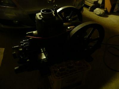 クボタの石油発動機 AHC