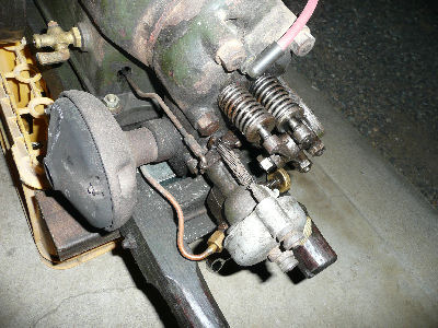 石油発動機の気化器