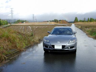 雨上がりのRX-8