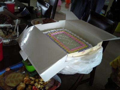 アメリカンなケーキ