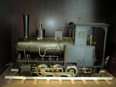 頚城鉄道で走っていたコッペルの模型その2