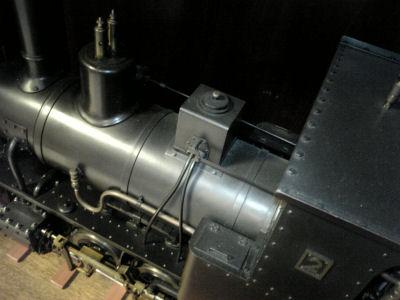 頚城鉄道で走っていたコッペルの模型その3